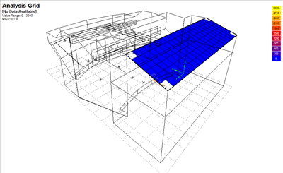 The 3D form-fitted analysis grid.