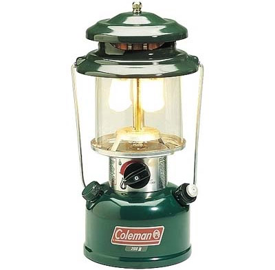 Figure 3 - Gas mantle lanterns are an example of a candoluminescent light source.